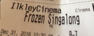 Singalong a Frozen
