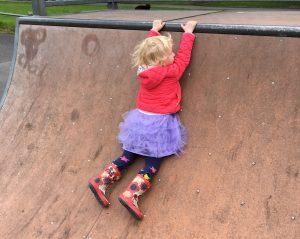 Toddler Bravery