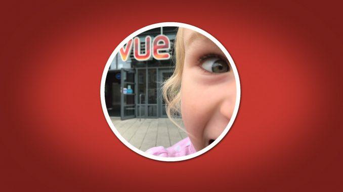Child's first cinema trip - Vue Halifax