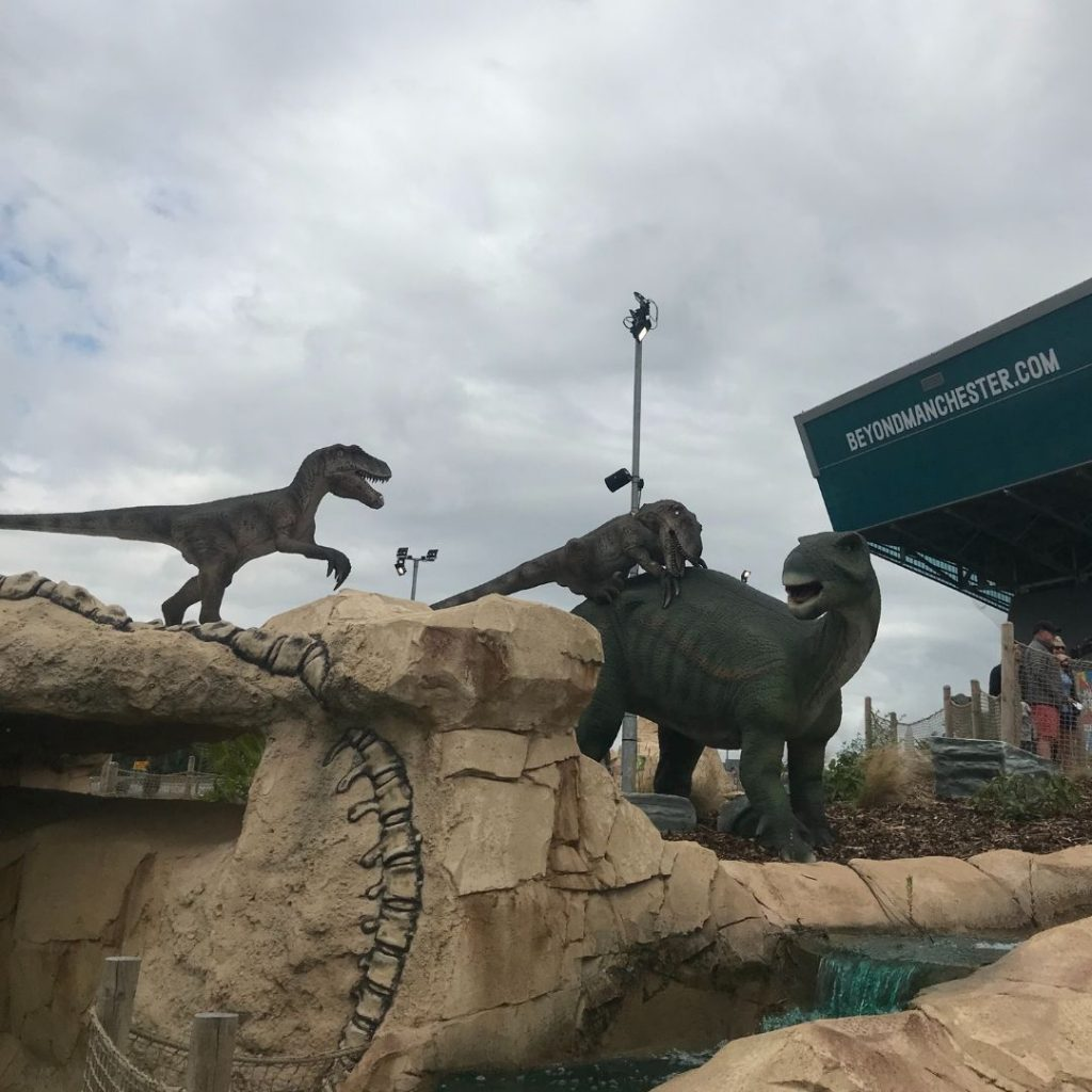 Family Friendly Manchester - Dino Falls Adventure Golf